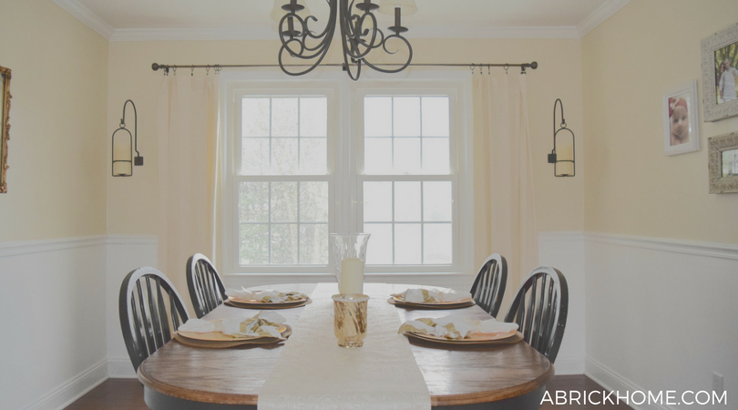 Light and Bright Dining Room
