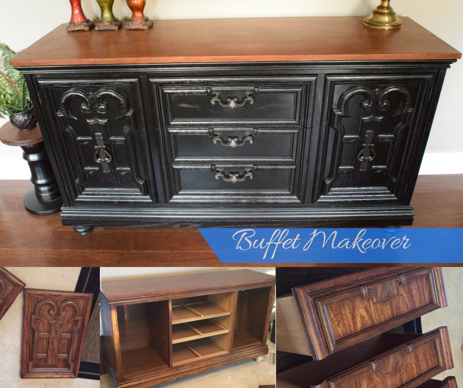 DIY Buffet Makeover