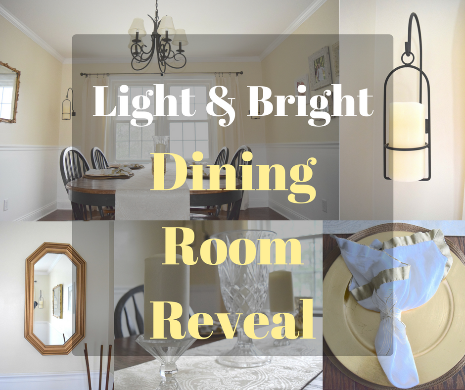 Light & Bright Dining Room Reveal