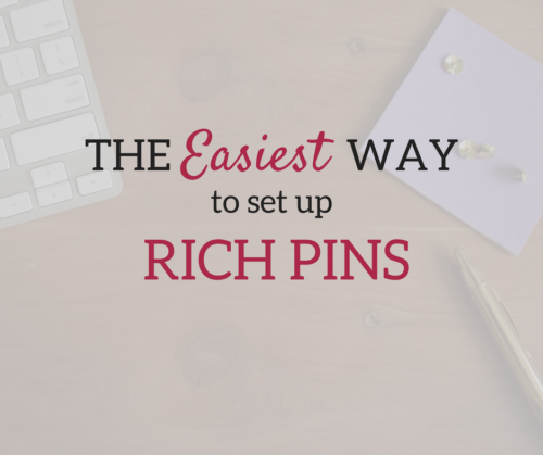 A Brick Home: How to set up rich pins on Pinterest