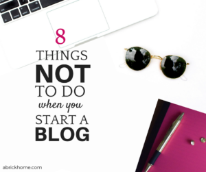 Read this post before you start a blog. You'll be happy you did.