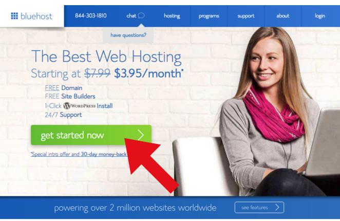 Awesome tutorial about how to start a blog using Bluehost