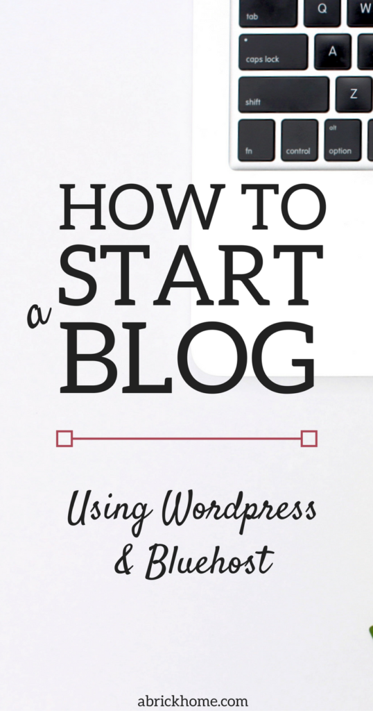 How to Start a Blog Using WordPress and Bluehost | Blogging Tutorial