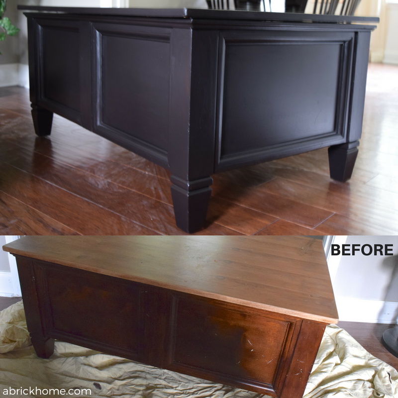 Paint Projects - Before and after