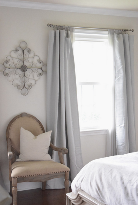 Layer curtains for a pretty and simple window treatment
