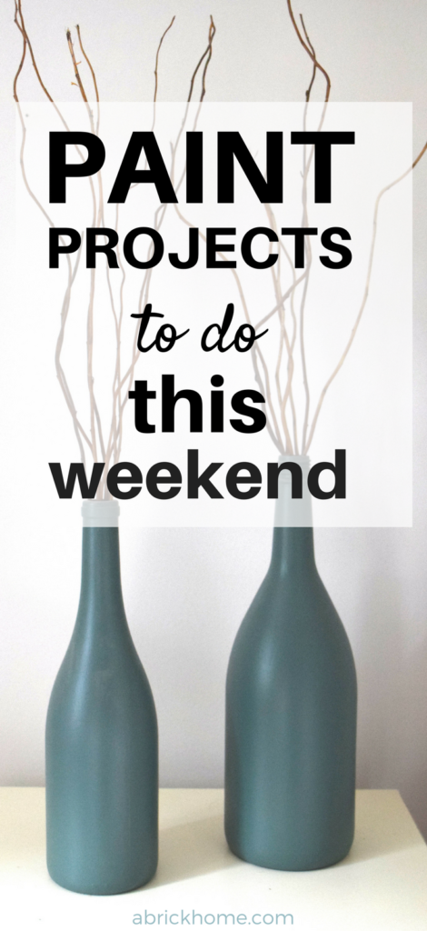 I'm doing at least one of these paint projects. Good tutorials, too.