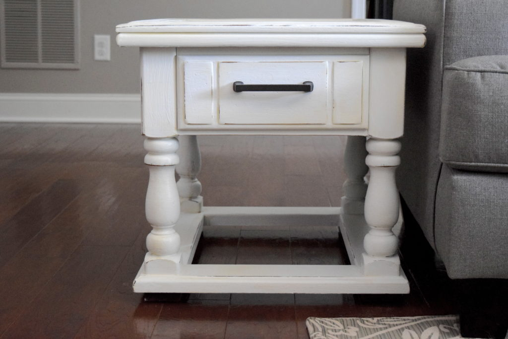 This tutorial is so easy and helpful! I can't wait to try it on my end tables.