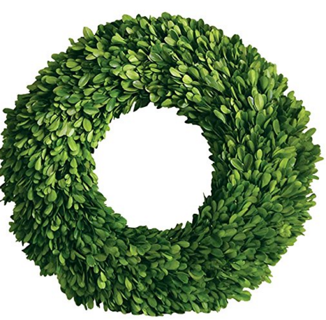 A Brick Home: Wreaths for front door, wreath ideas, green wreath decor, best wreaths, best wreaths black door