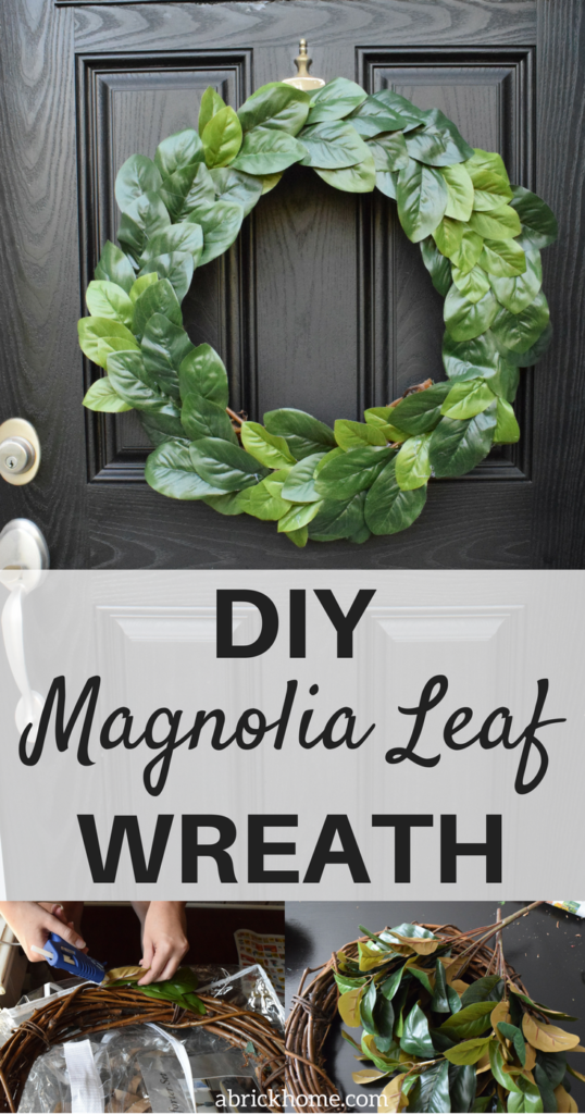 A Brick Home: Wreaths for front doors, wreaths diy, easy diy wreath, fall wreath, spring wreath, diy wreath ideas