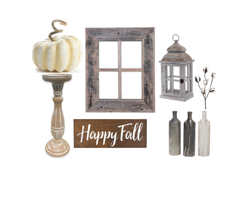 Gorgeous Neutral Fall Decor for Your Mantel
