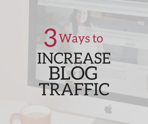 A Brick Home: How to increase blog traffic with pinterest, increase blog traffic tips, blog traffic report, increase blog pageviews