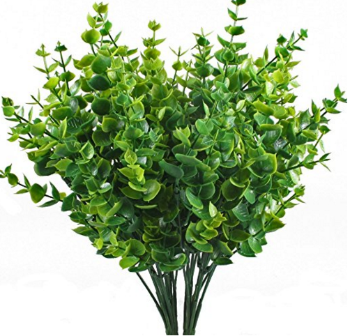 Green Shrub Cake Decorations