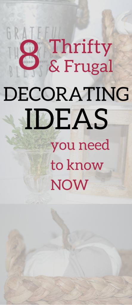A Brick Home Frugal Decorating Ideas For The Budget