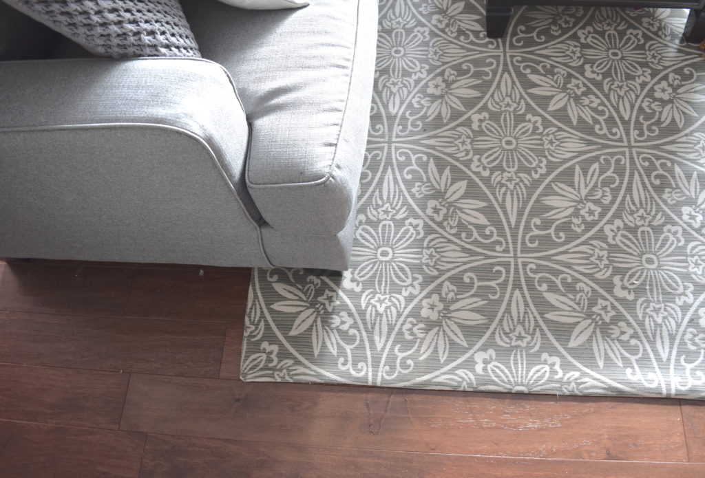 How to Choose the Perfect Area Rug • A Brick Home