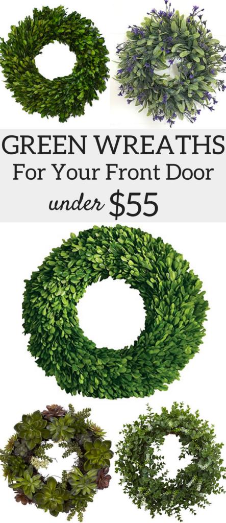 Best Green Wreaths For Your Front Door Under 55 A Brick