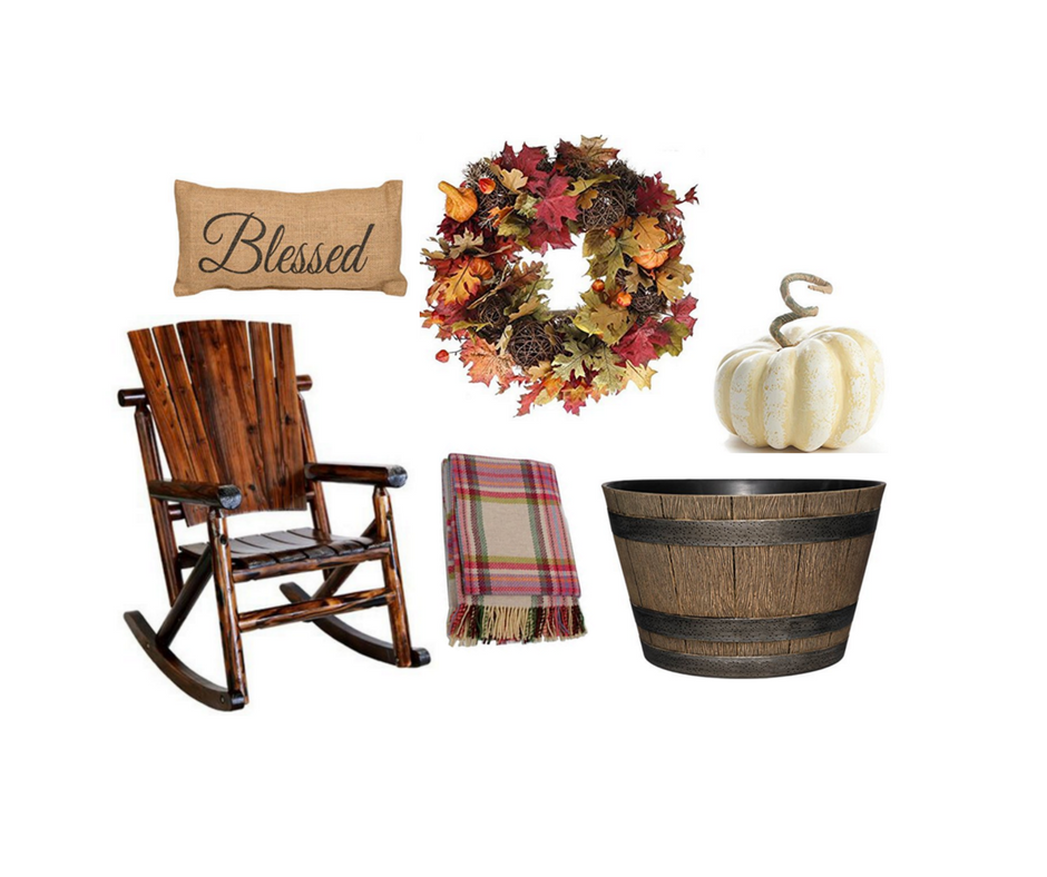 Rustic Porch Decor For Fall Lovers • A Brick Home