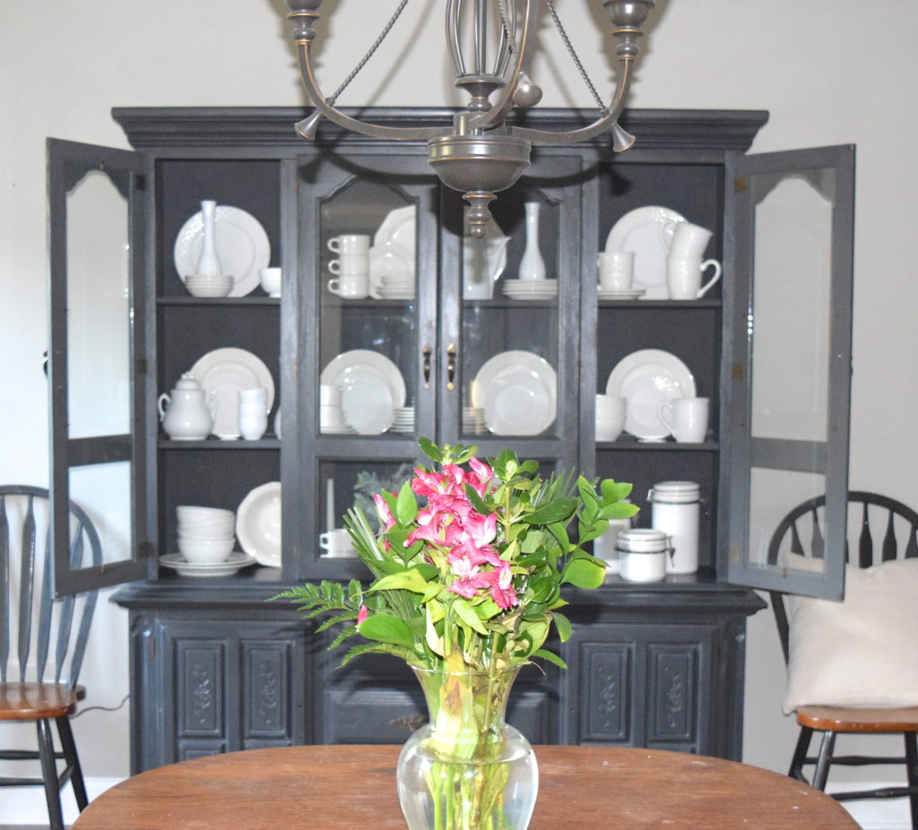 Chalk Paint Hutch Makeover With A Restoration Hardware Look O A