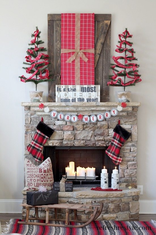 20 Insanely Gorgeous Christmas Mantel Ideas You Need To
