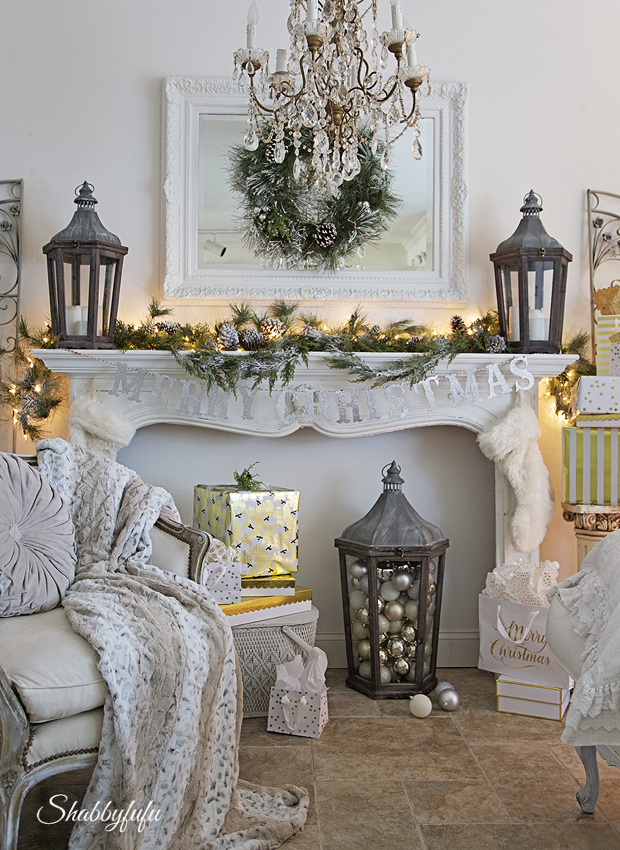 christmas mantel ideas diy christmas mantel ideas rustic christmas mantels modern christmas mantels - French Country Christmas Decor