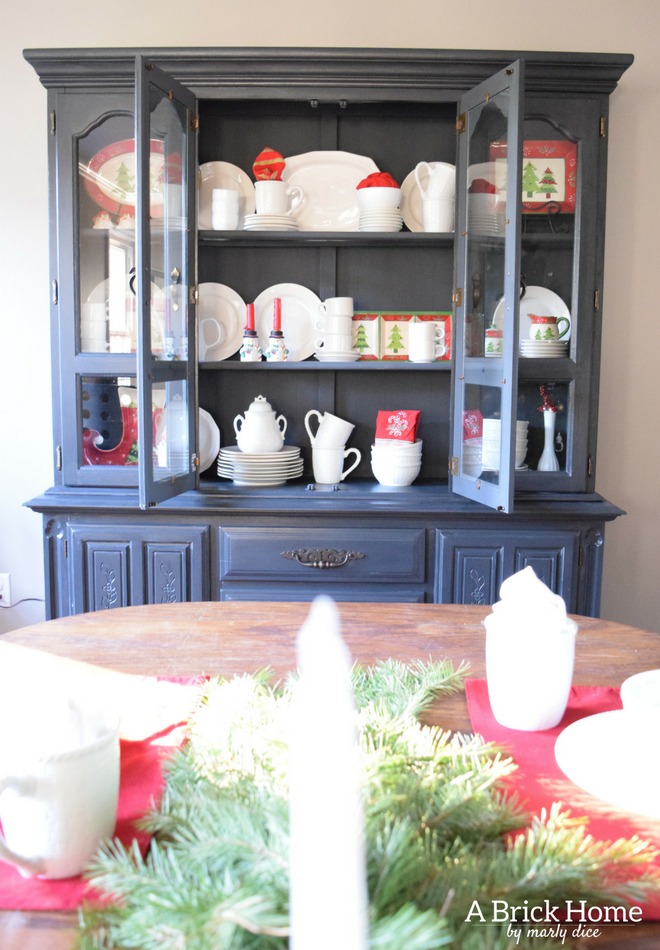 Marvelous 12 Christmas Hutch Decor Ideas That Will Impress Your Dinner Complete Home Design Collection Barbaintelli Responsecom