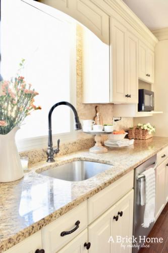 Fresh Cheerful Spring Kitchen Tour A Brick Home