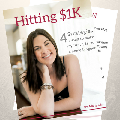 Hitting $1K eBook – By Marly Dice