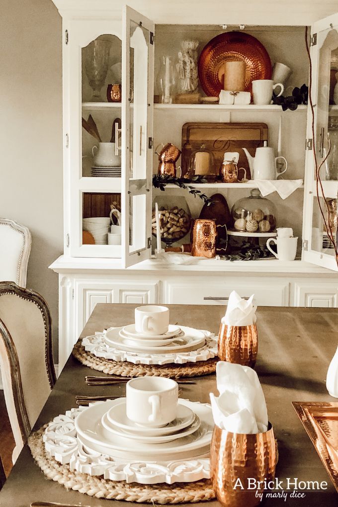 LOVING These COPPER Decor Accents Right Now Perfect For Winter And Paired With Wood Tones