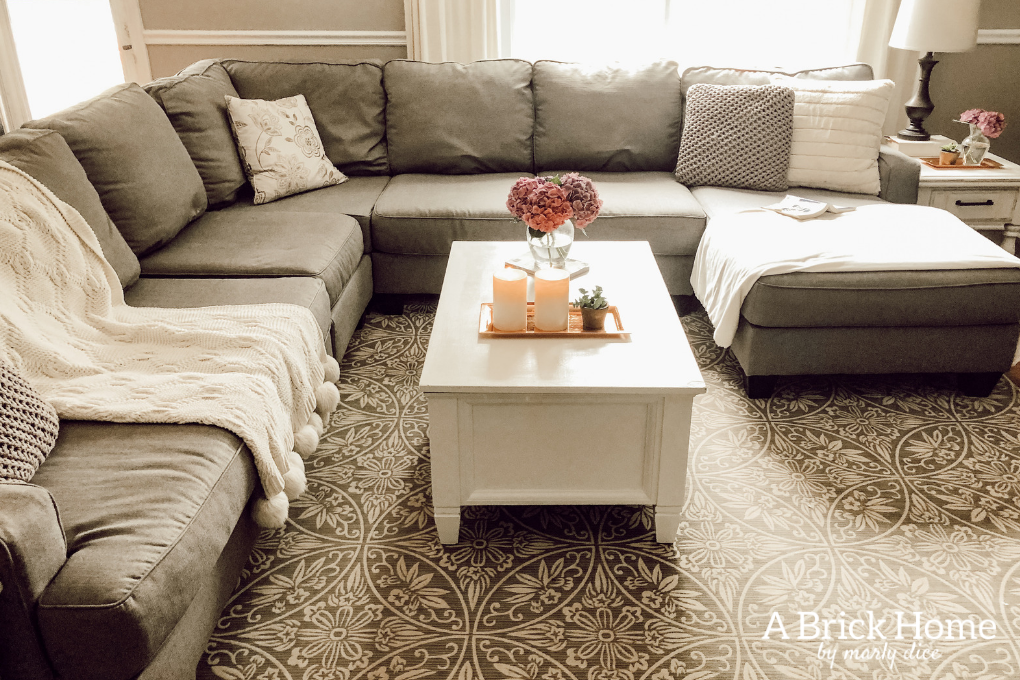 Ashley Furniture Sectional Review - A Brick Home - A Brick ...