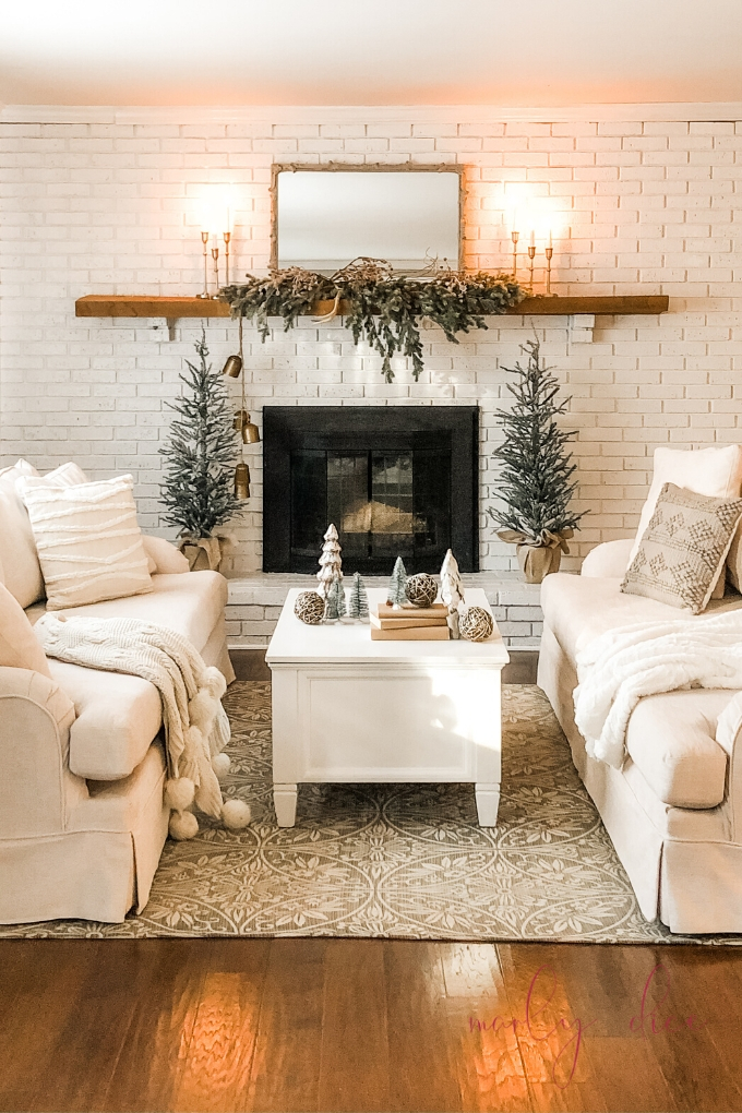 Cozy Winter Mantle Decor After Christmas A Brick Home By Marly Dice